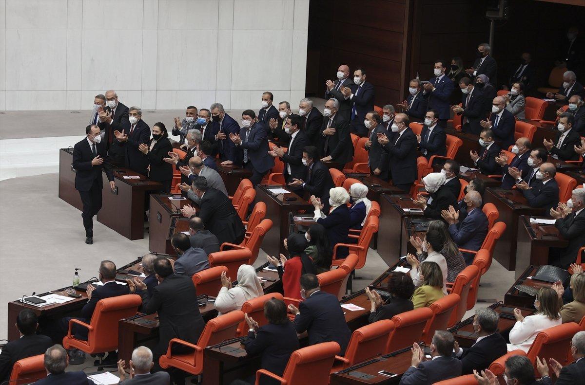 3 yeni bakan Meclis te yemin etti #4