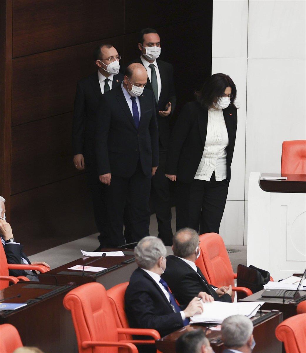 3 yeni bakan Meclis te yemin etti #1