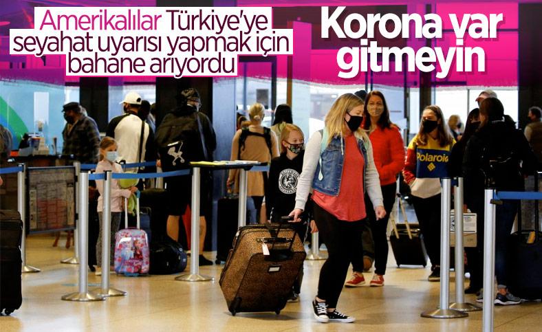 ABD, Türkiye'yi 'seyahat etmeyin' listesine ekledi