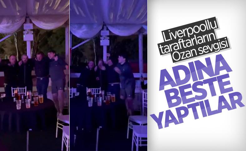 Liverpool taraftarı Ozan Kabak'a beste yaptı
