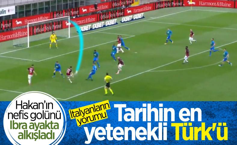 Hakan Çalhanoğlu'ndan nefis plase golü