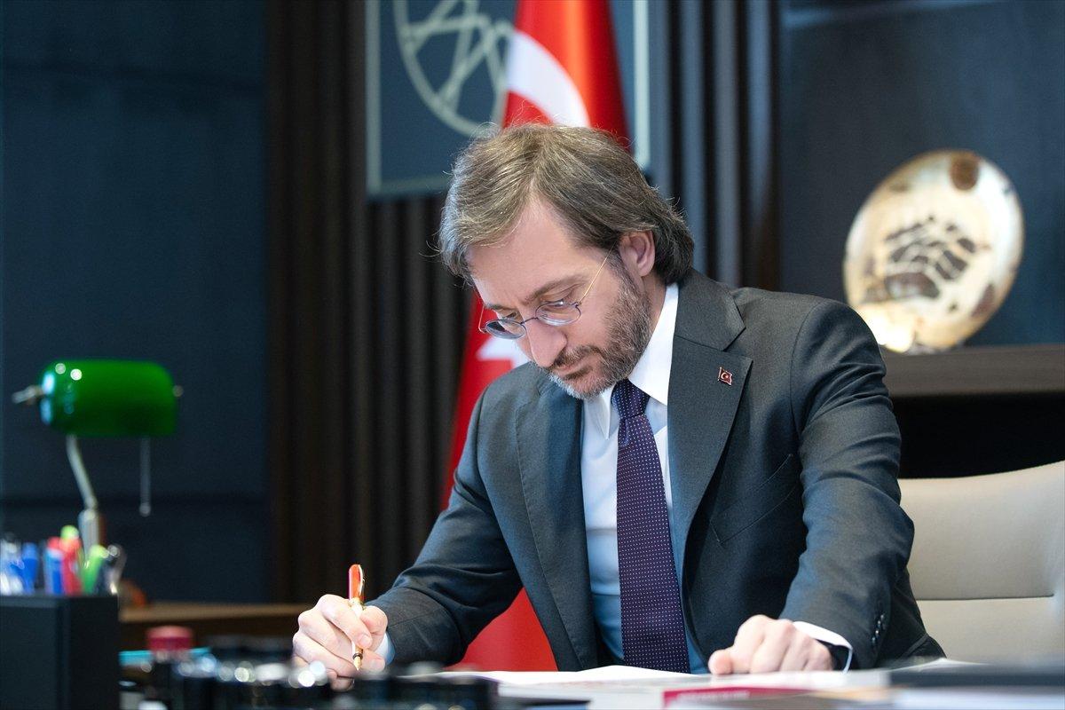 Fahrettin Altun a karşı HDP-CHP-İP ittifakı #1