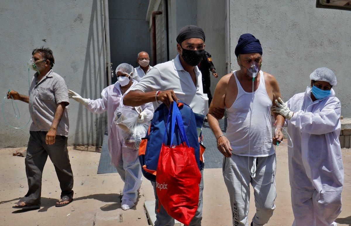 Hindistan da günlük vaka sayısında rekor kırıldı #9