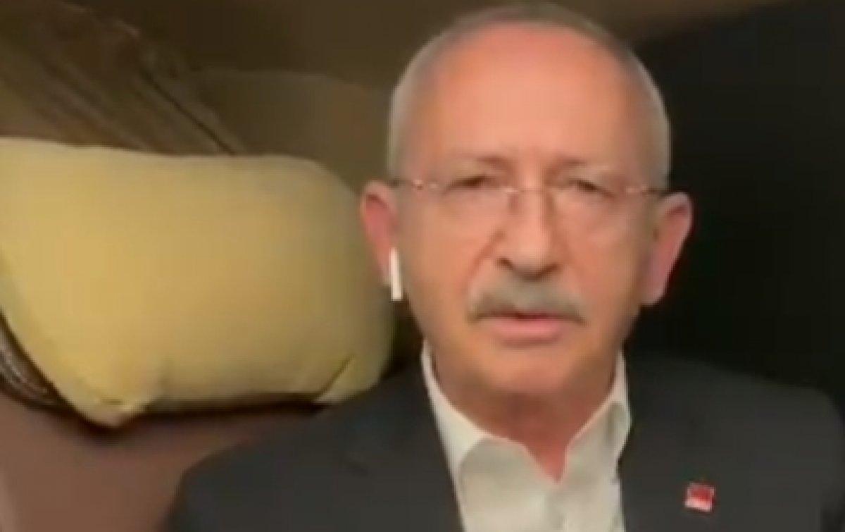 Kemal Kılıçdaroğlu nun airpods kulaklık ve tespihle pozu #3