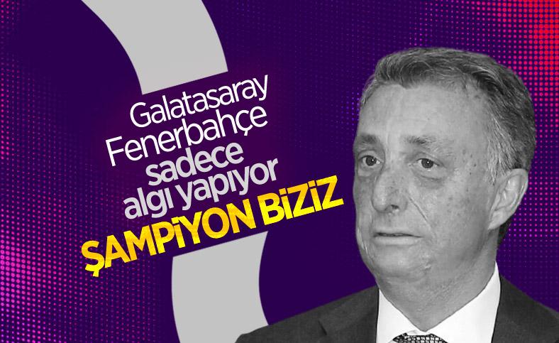 Ahmet Nur Çebi: Beşiktaş'a algı operasyonu yapıyorlar