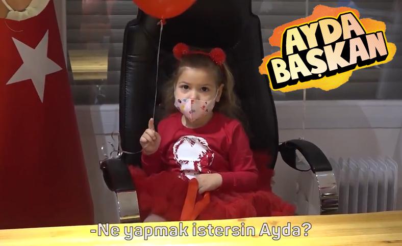 İzmir depreminin simgesi Ayda belediye başkanı oldu