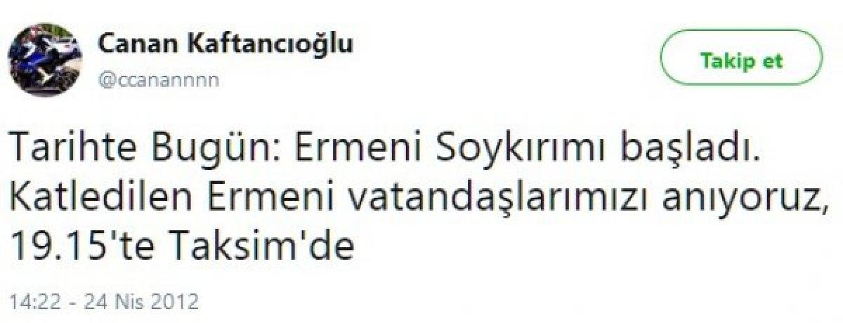 Canan Kaftancıoğlu nun sözde 1915 olaylarına verdiği destek #2