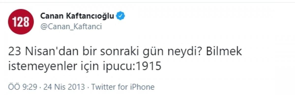 Canan Kaftancıoğlu nun sözde 1915 olaylarına verdiği destek #1