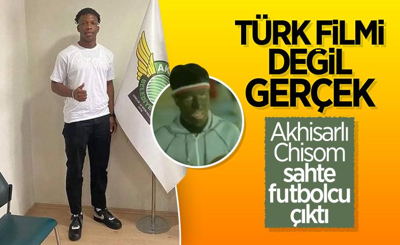 Akhisarlı Onyebueke'nin futbolcu olmadığı anlaşıldı