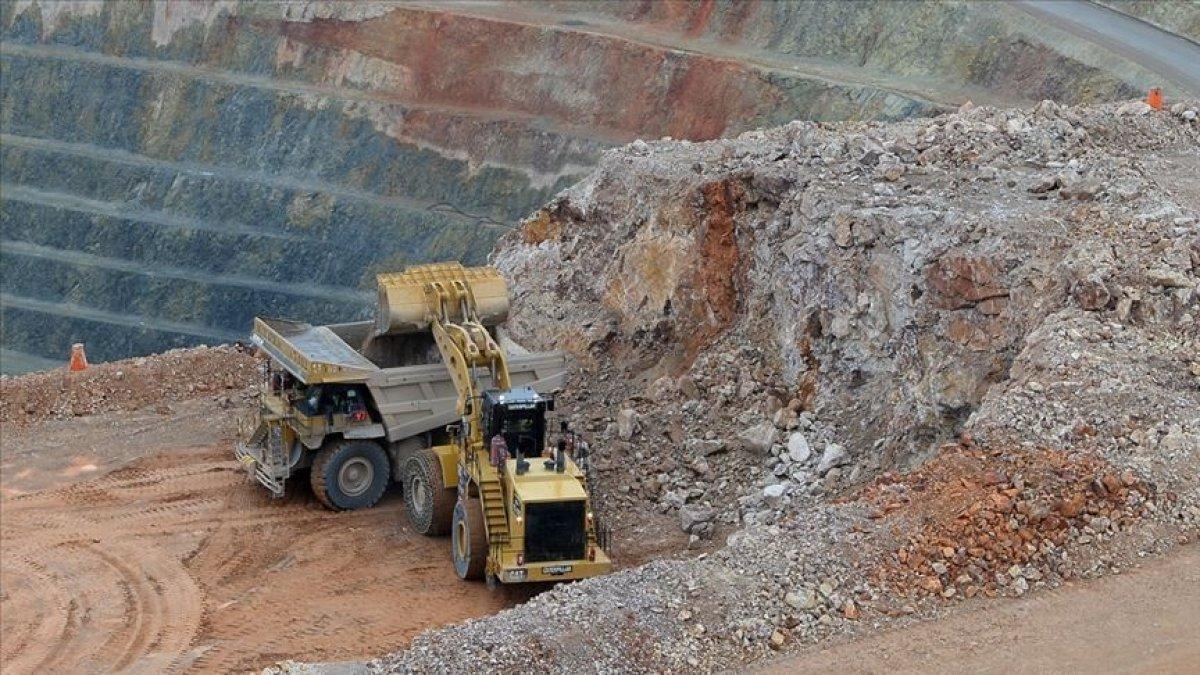 Maden sektöründe ilk çeyrek ihracatı yüzde 29,9 arttı #1