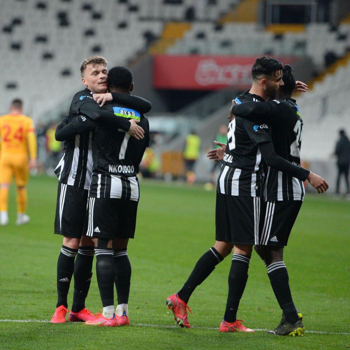 Beşiktaş, Kayserispor u 3 golle mağlup etti #3