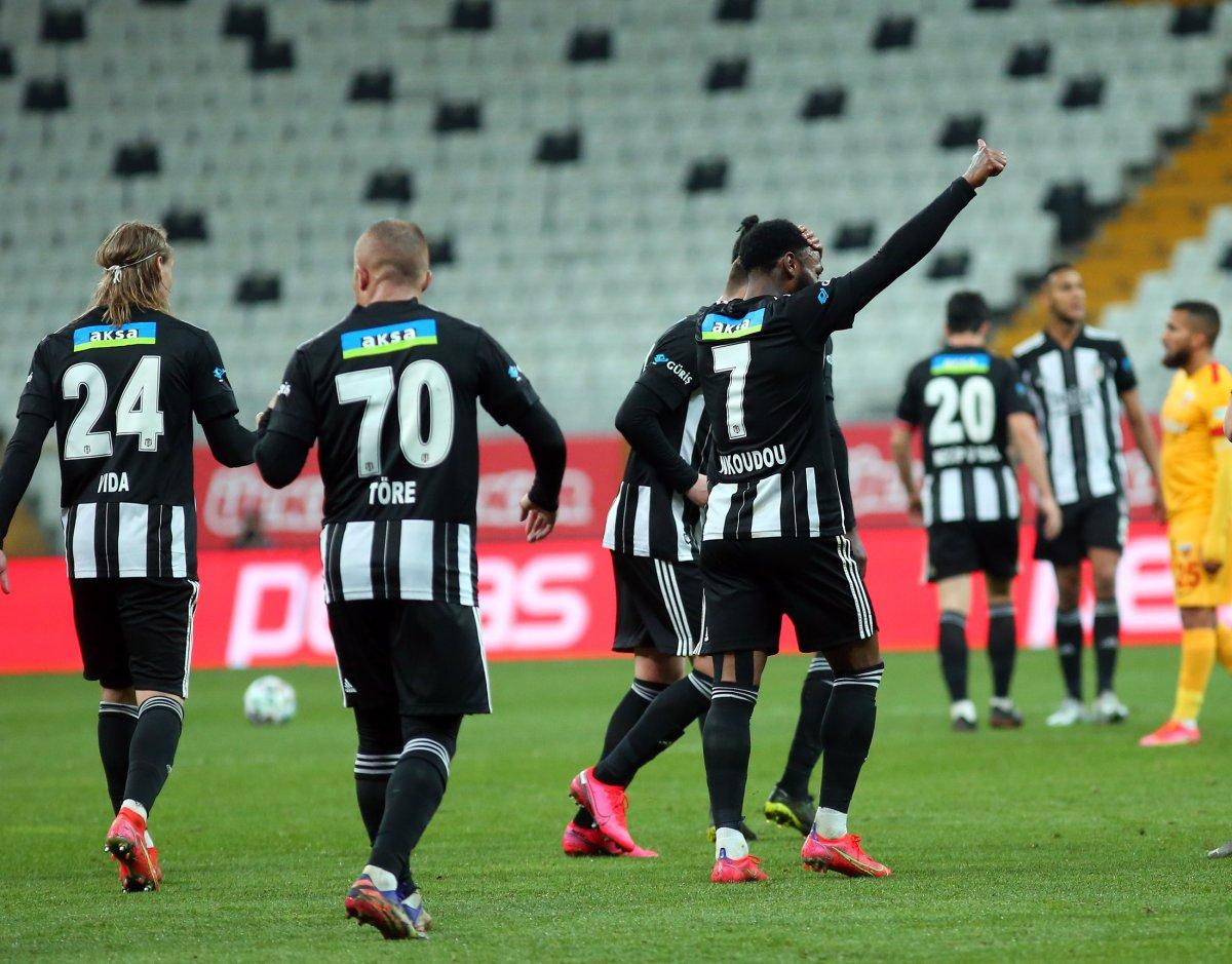 Beşiktaş, Kayserispor u 3 golle mağlup etti #1