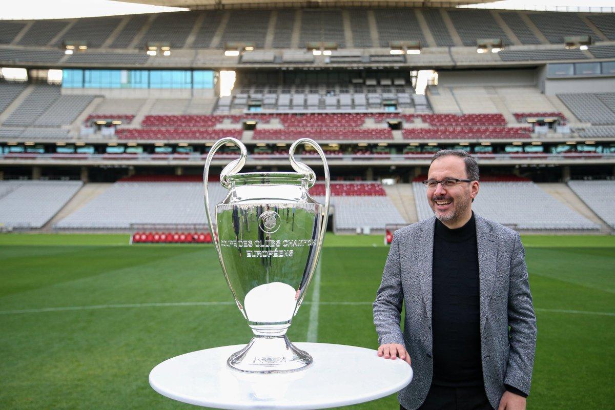 Bakan Kasapoğlu: Şampiyonlar Ligi Finali ne hazırız #3