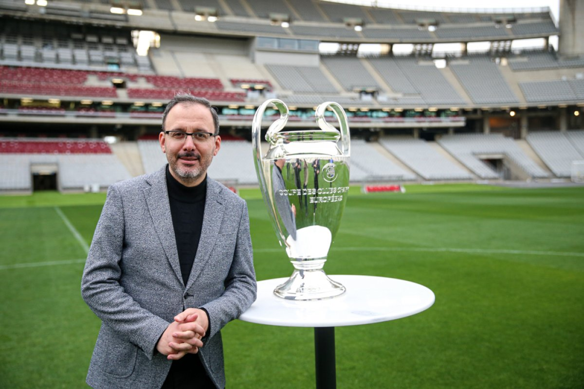 Bakan Kasapoğlu: Şampiyonlar Ligi Finali ne hazırız #2