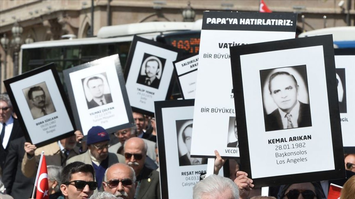 Dışişleri Bakanlığı: Ermeni terörünün şehit ettiği arkadaşlarımızı unutmayacağız #2