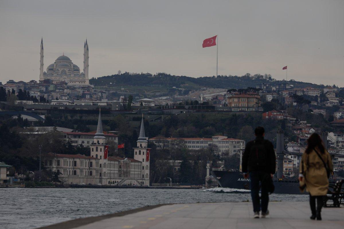 İstanbul da en uzun Türk bayrağı dalgalanıyor #1