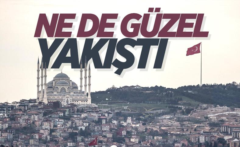 İstanbul'da en uzun Türk bayrağı dalgalanıyor