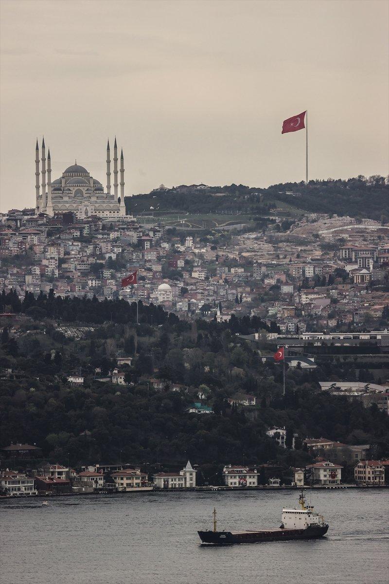 İstanbul da en uzun Türk bayrağı dalgalanıyor #2