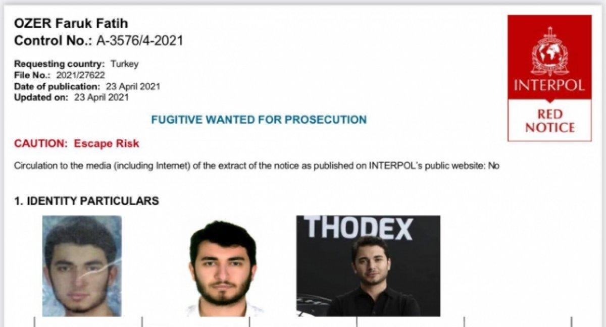 Faruk Özer in yakalanması için 4 ülkeye özel ekip gönderildi #1