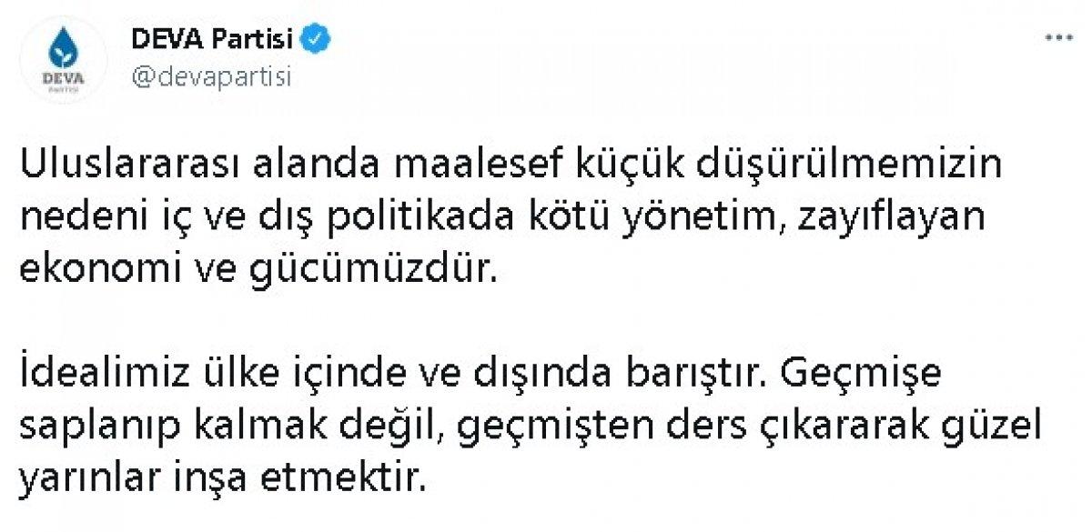 Biden ın Ermeni iddialarını kabulüne Ali Babacan ve Abdullah Gül den farklı tepkiler #1