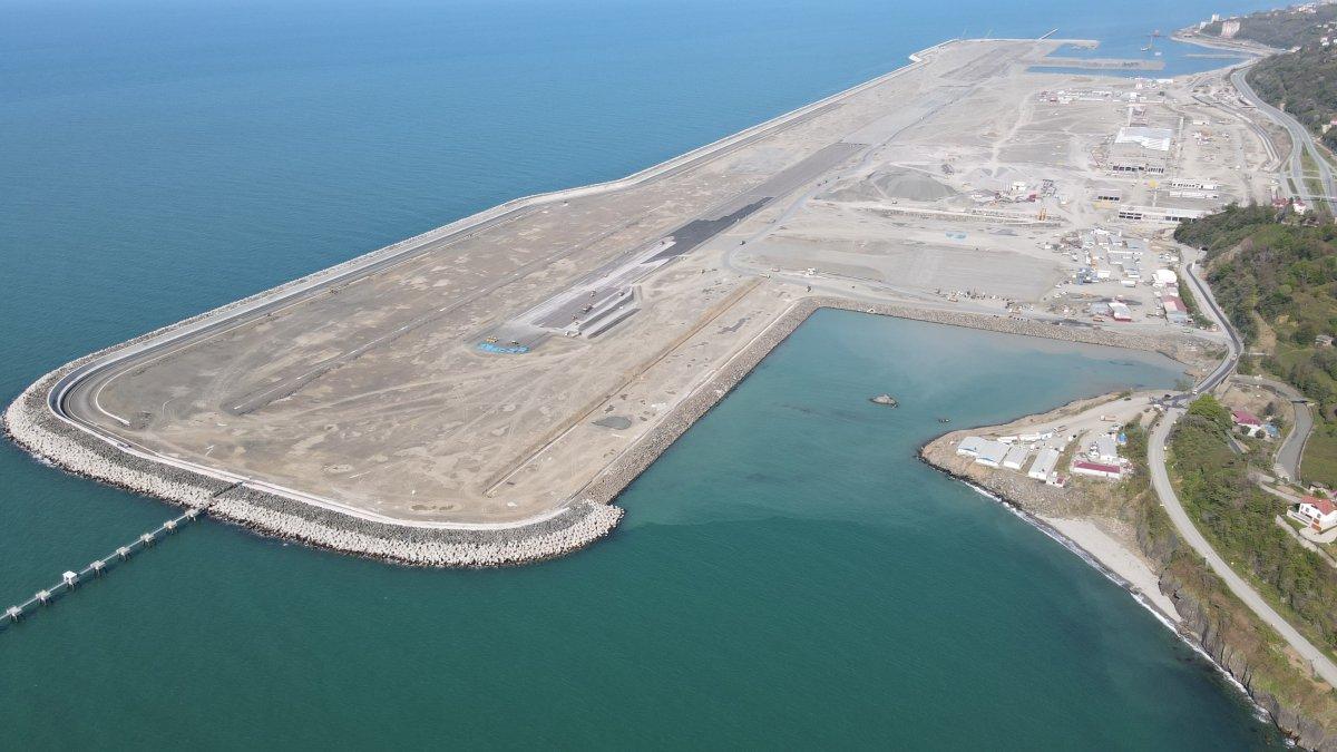 Rize Havalimanı yıl sonunda açılacak #10