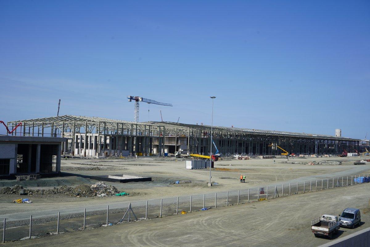 Rize-Artvin Havalimanı'nda çalışmalar sürüyor #4