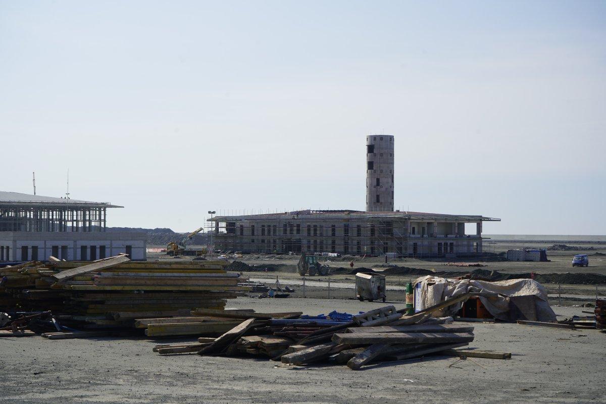 Rize-Artvin Havalimanı'nda çalışmalar sürüyor #2