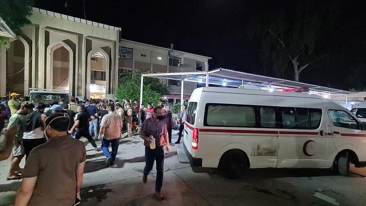 Irak'ta 82 kişinin öldüğü yangın: Sağlık Bakanı görevden alındı #1