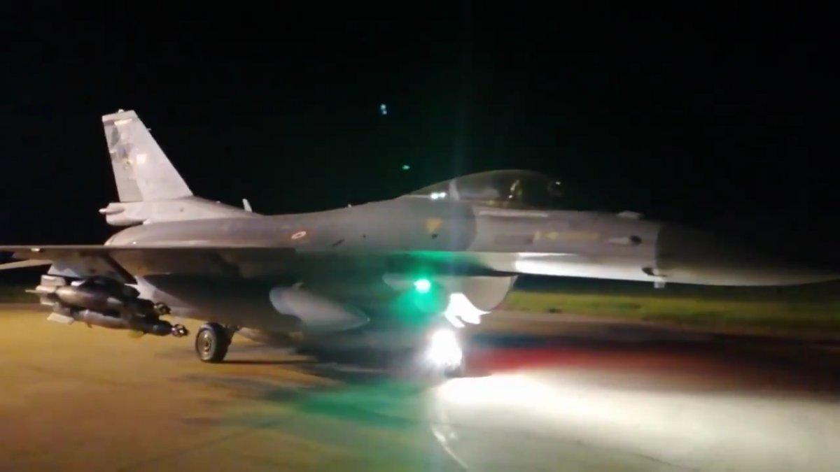 MSB: Irak ın kuzeyindeki terör hedefleri yerle bir edildi #1
