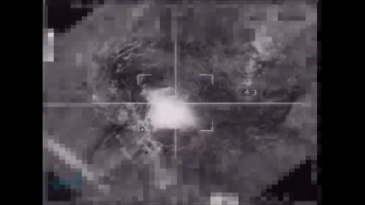 MSB: Irak ın kuzeyindeki terör hedefleri yerle bir edildi #3