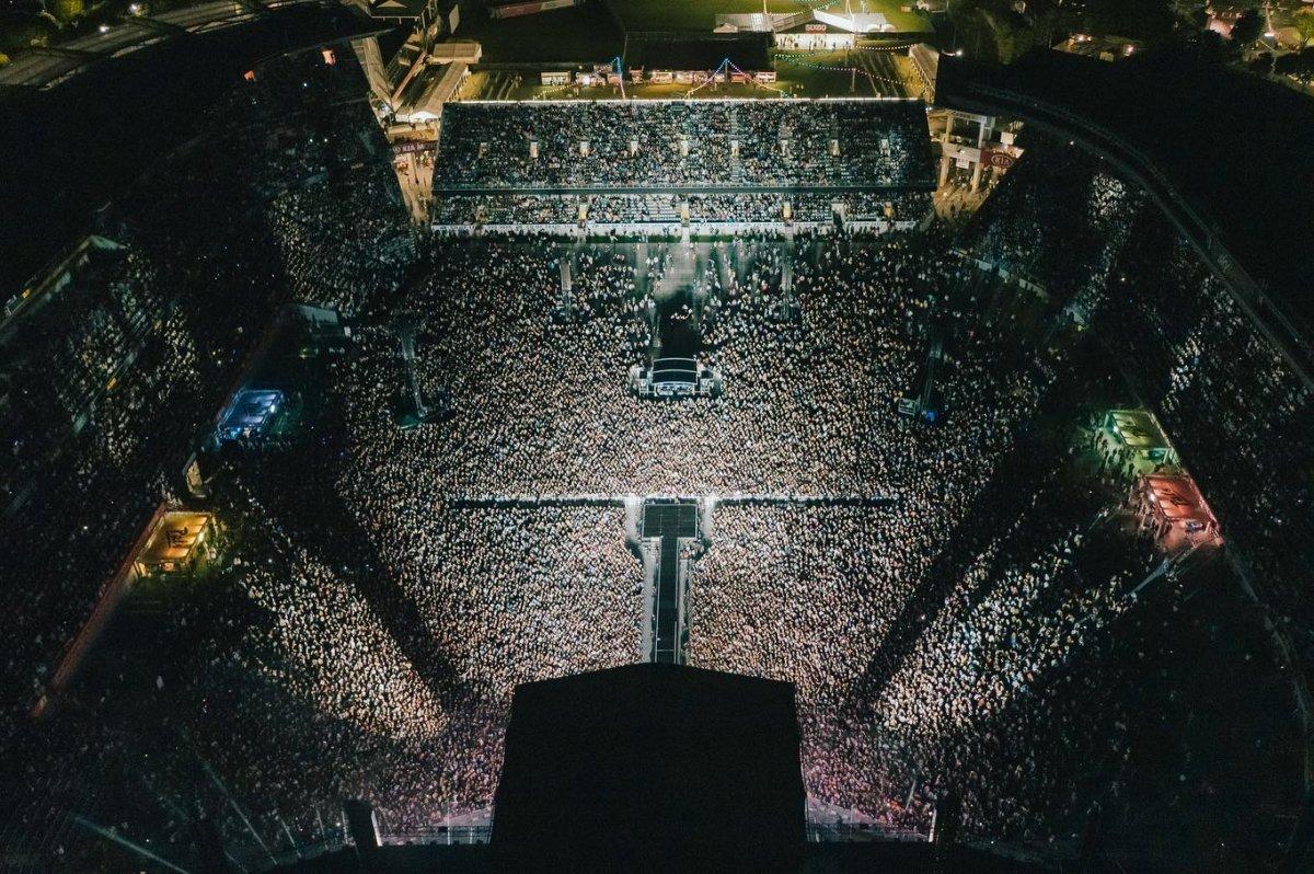 Yeni Zelanda'da 50 bin kişilik konser  #4