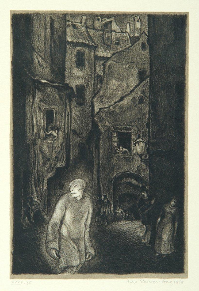 Gustav Meyrink in en bilinen romanına adını veren yaratık: Golem #4