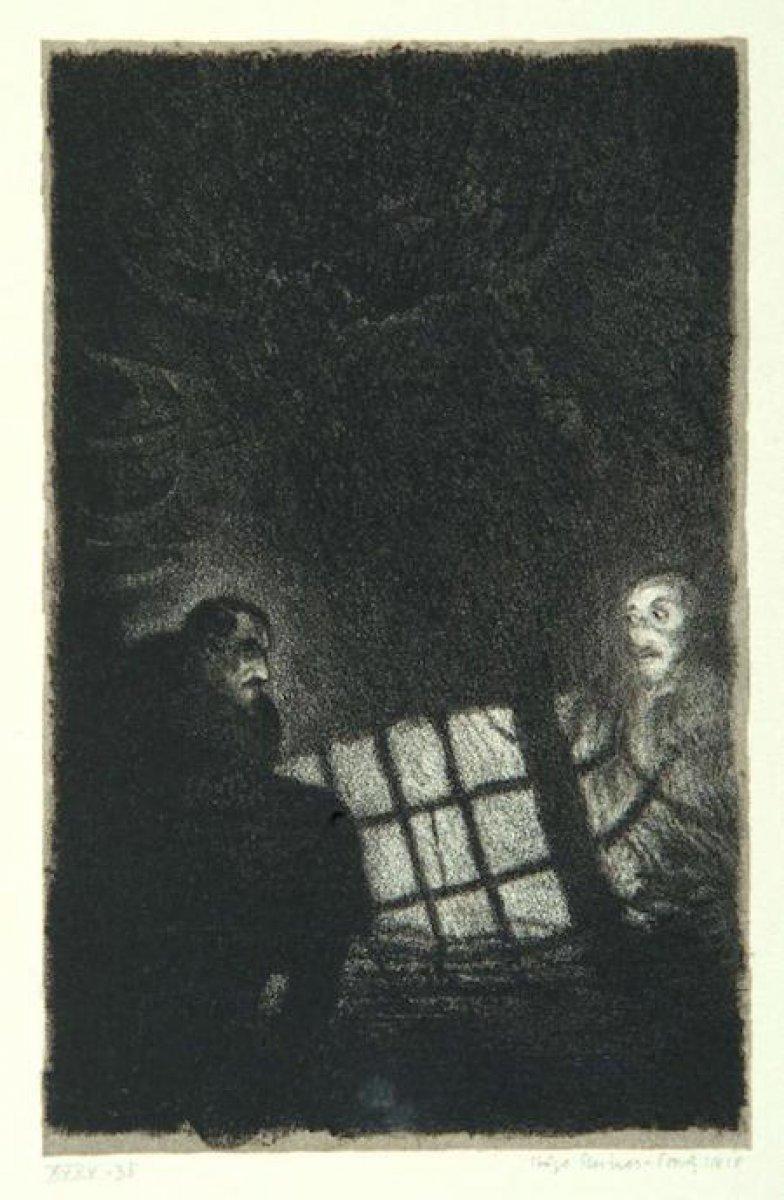 Gustav Meyrink in en bilinen romanına adını veren yaratık: Golem #6