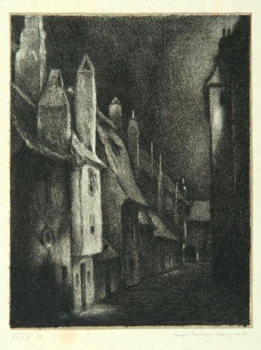 Gustav Meyrink in en bilinen romanına adını veren yaratık: Golem #7