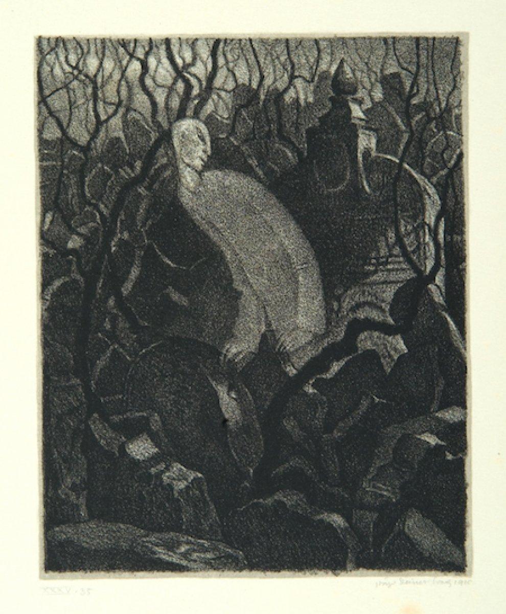 Gustav Meyrink in en bilinen romanına adını veren yaratık: Golem #3