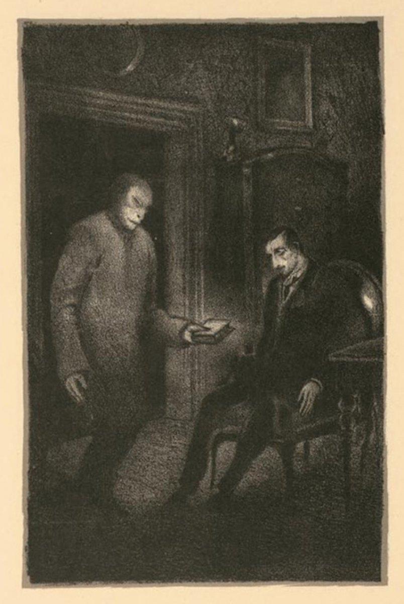 Gustav Meyrink in en bilinen romanına adını veren yaratık: Golem #1