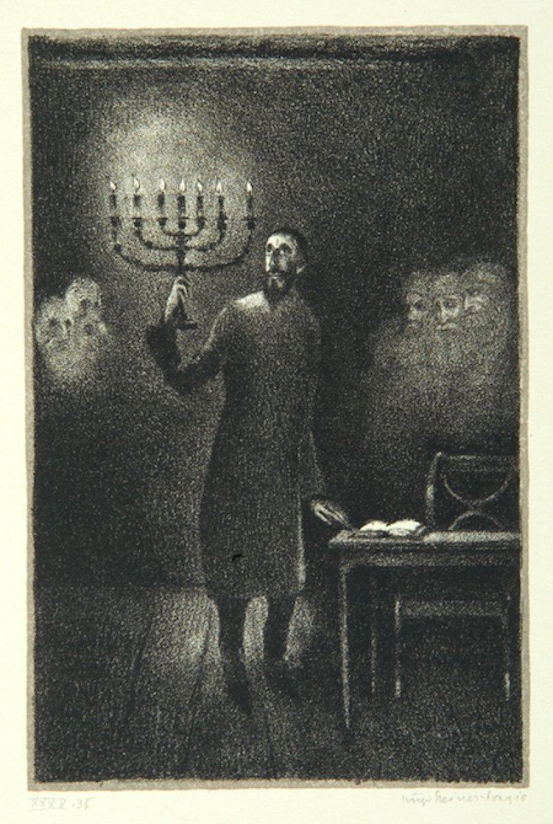 Gustav Meyrink in en bilinen romanına adını veren yaratık: Golem #8