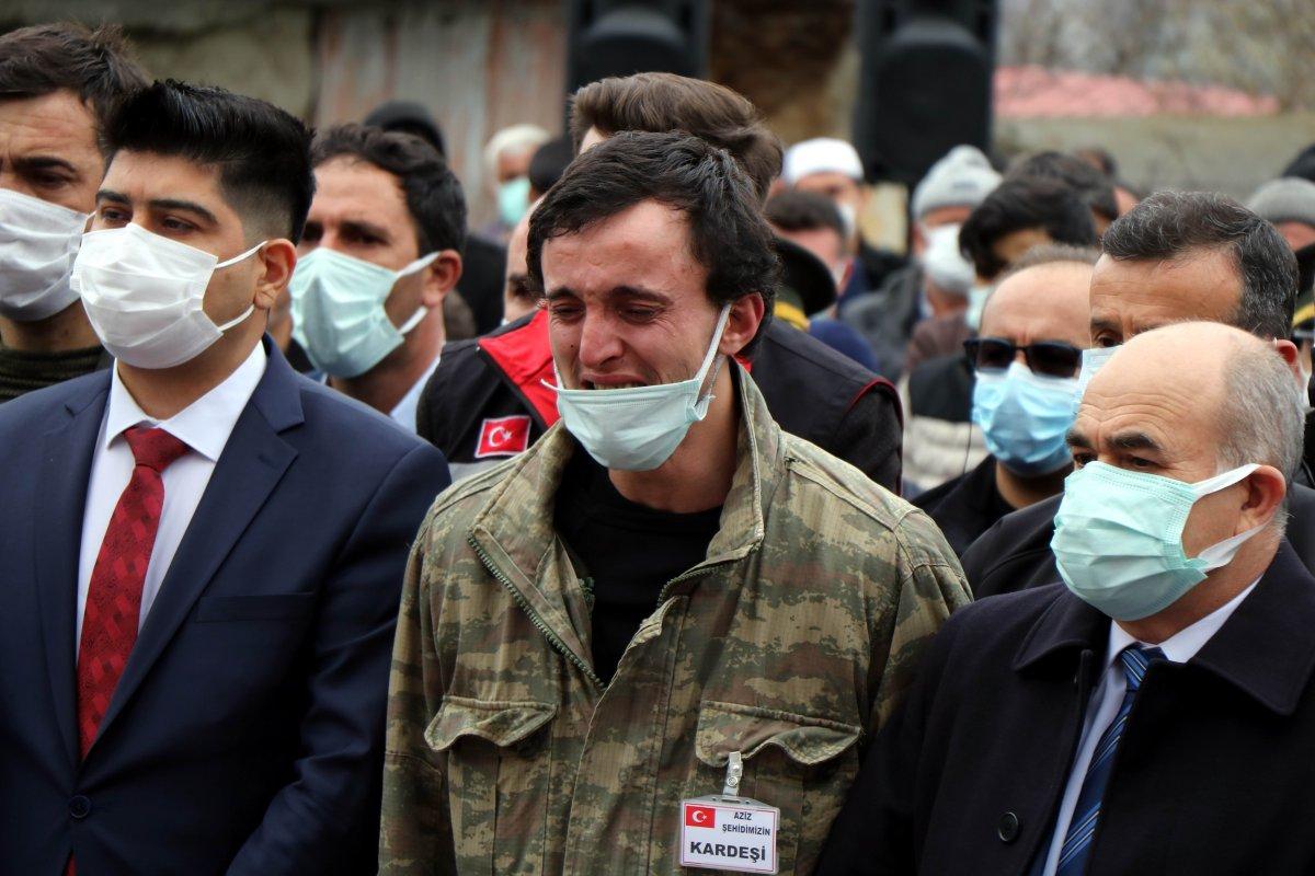 Şehit Uzman Çavuş Aygün Çakar, Samsun da defnedildi #8