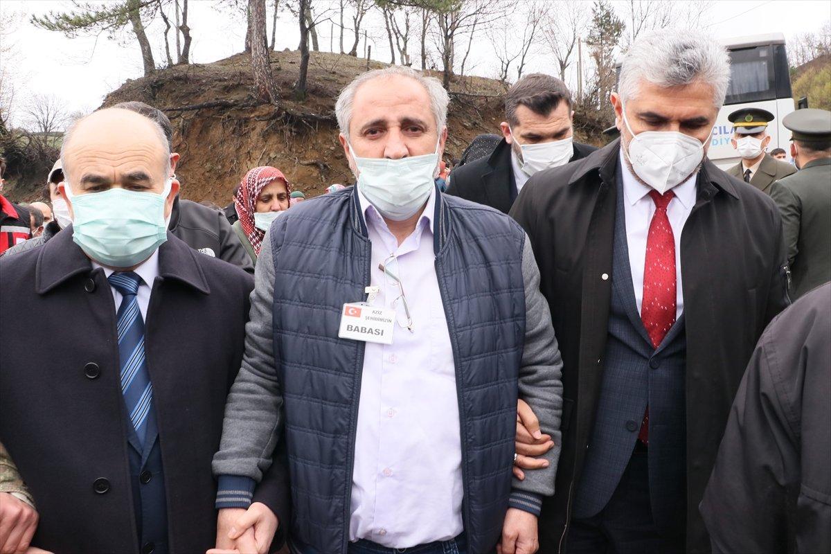 Şehit Uzman Çavuş Aygün Çakar, Samsun da defnedildi #9