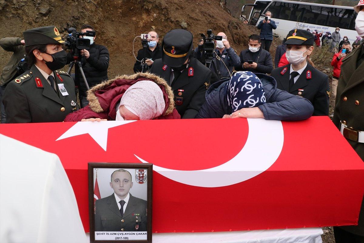 Şehit Uzman Çavuş Aygün Çakar, Samsun da defnedildi #3