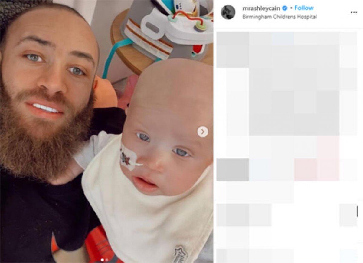 Ashley Cain in 8 aylık bebeği hayata veda etti #2