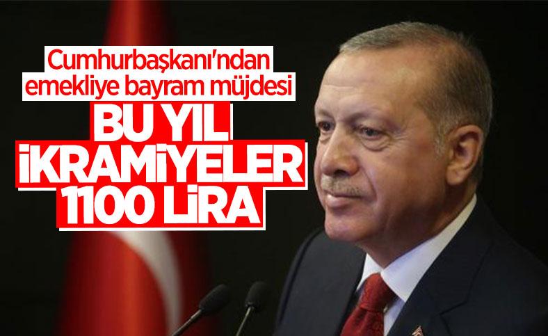 Cumhurbaşkanı Erdoğan'dan emeklilere bayram ikramiyesi müjdesi