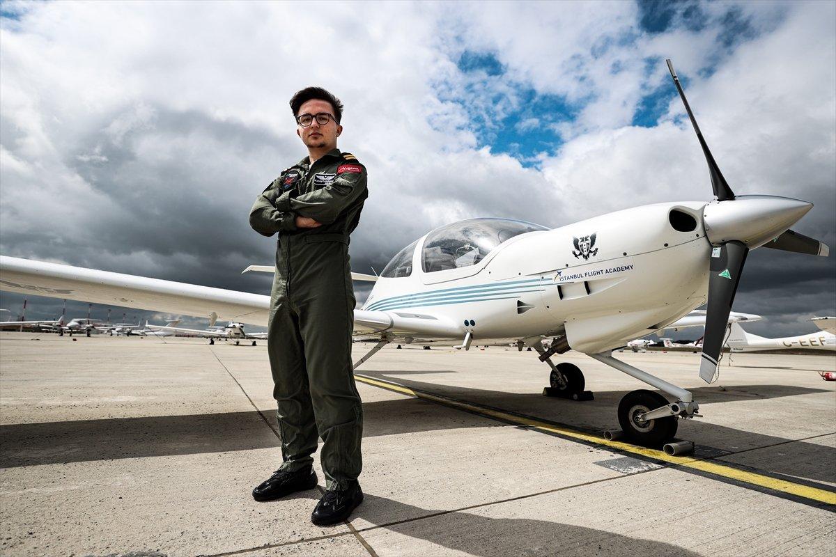 Türkiye nin 17 yaşındaki en genç pilotu #1