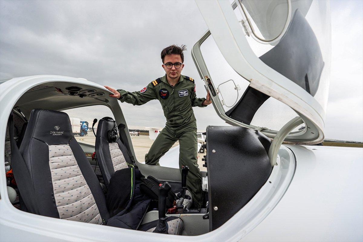 Türkiye nin 17 yaşındaki en genç pilotu #3