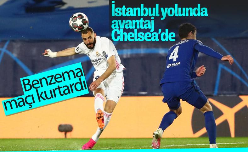 Real Madrid Şampiyonlar Ligi'nde Chelsea ile berabere kaldı