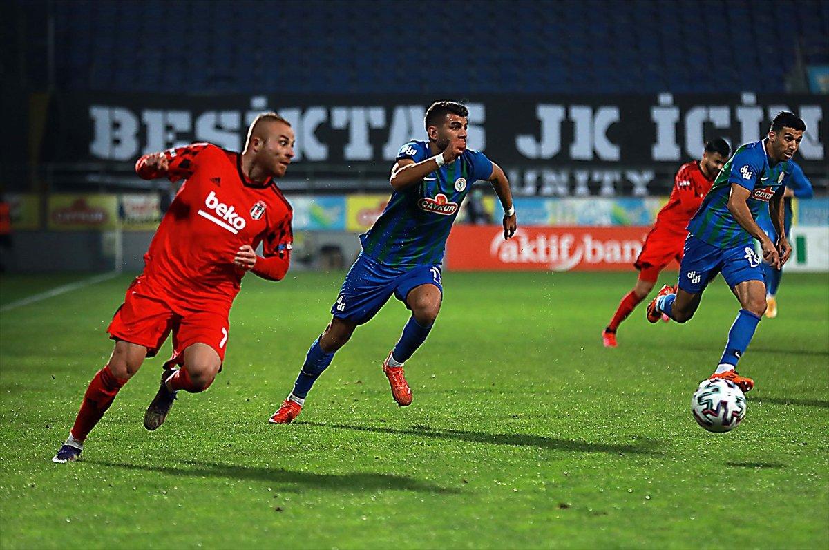 Beşiktaş, Rizespor deplasmanından 3 puanla döndü #1