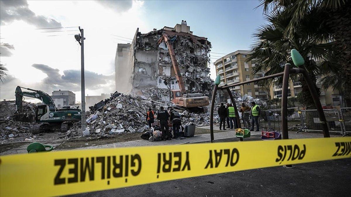 İzmir depremi soruşturması: 22 gözaltı kararı #1