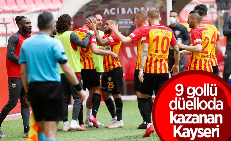 Kayserispor, Denizlispor'u 6-3 mağlup etti