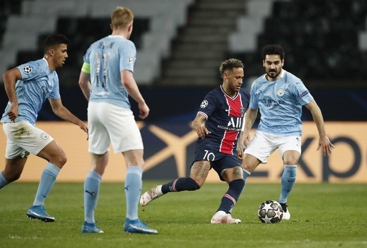 Manchester City, Şampiyonlar Ligi yarı final ilk maçında PSG yi yendi #3