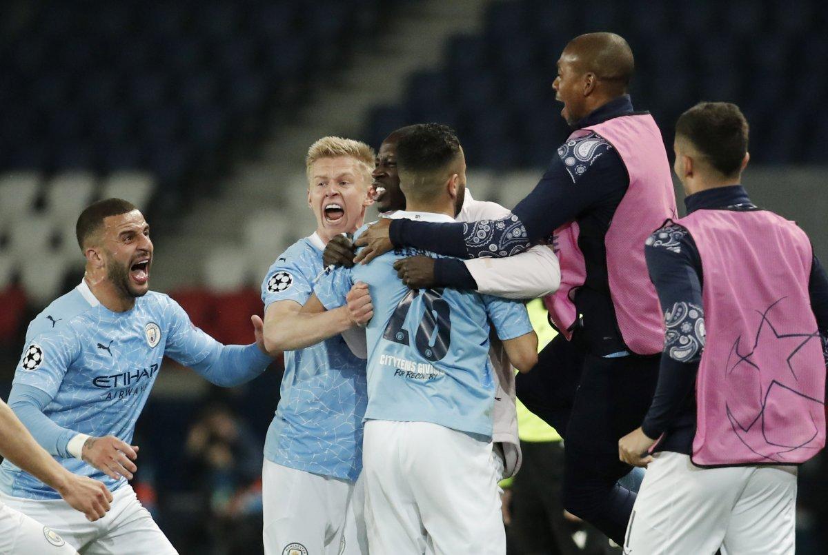 Manchester City, Şampiyonlar Ligi yarı final ilk maçında PSG yi yendi #4